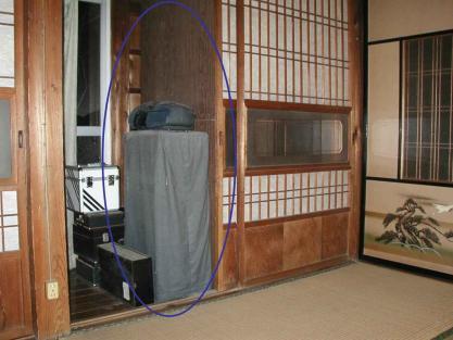 【施工事例vol.3】廊下にトイレを新設前