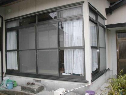 【施工事例vol.18】強化ガラスの設置後(1)