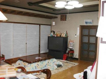 【施工事例vol.24】壁・天井・床の改装前