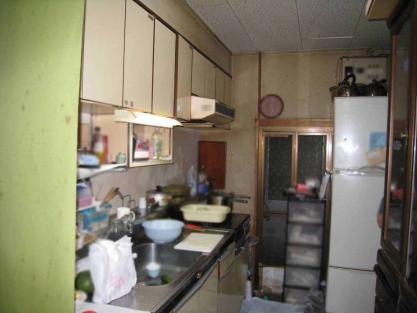 【施工事例vol.30】施工前:キッチンの改装