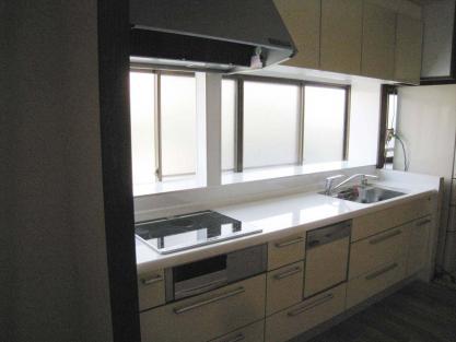 【施工事例vol.34】施工後:居間にキッチンを移設