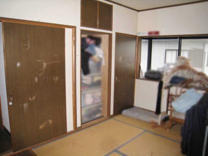 【施工事例vol.40】施工前:洋室へのリフォーム