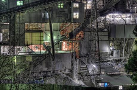 奥多摩工業夜景