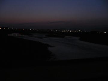夜の大井川