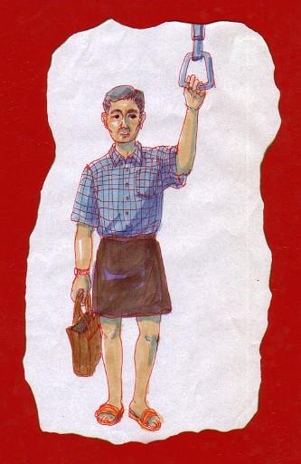 スカートおじさん