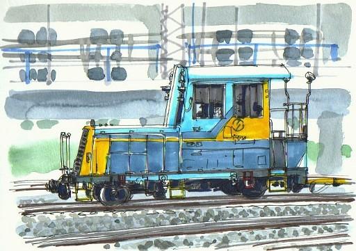 保線作業車両