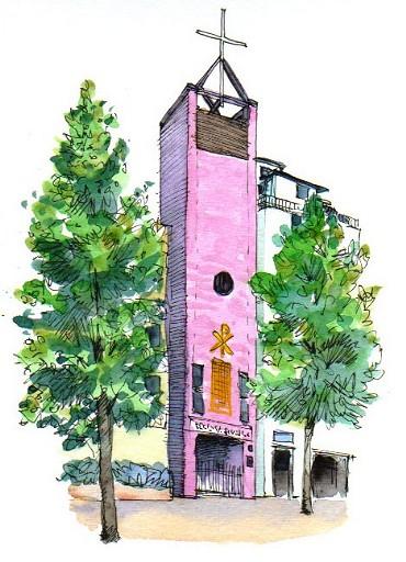 上富士の教会