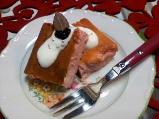 ベリーベイクドチーズケーキ☆