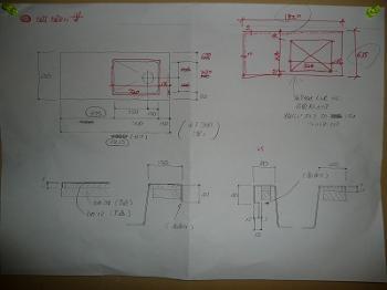 キッチンの設計図面