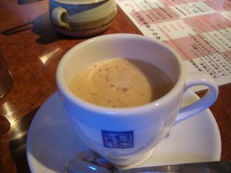 泡立ちコーヒー
