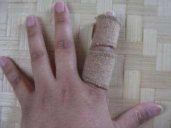 指の怪我1