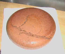 炊飯チョコケーキ 1-1