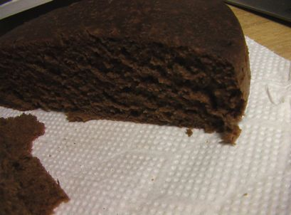 炊飯チョコケーキ 1-4