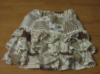 3段スカート 3