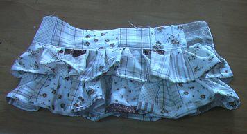 3段スカート 2