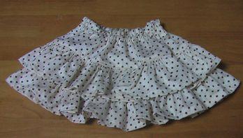 2段スカート 3