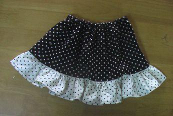 二色スカート 1