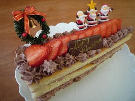 ホットケーキでクリスマス