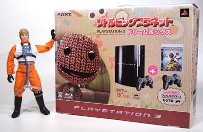 とうとう買いました~ PS3 80GB リトルビッグプラネット ドリームボックス