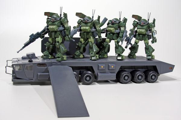 装甲騎兵ボトムズ ビッグキャリーandスコープドッグターボカスタム AG-EX08 4