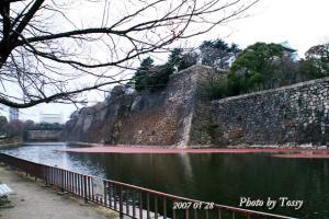 大阪城堀2007年