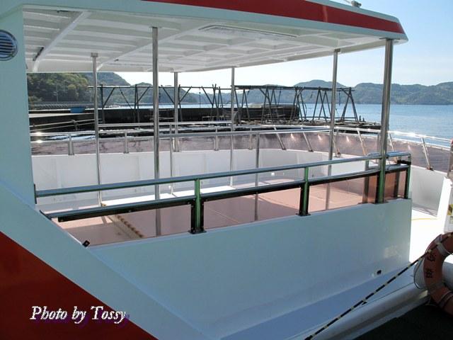 観潮船甲板