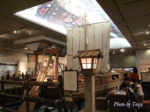 丸子船の復元