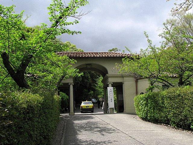 神戸女学院正門