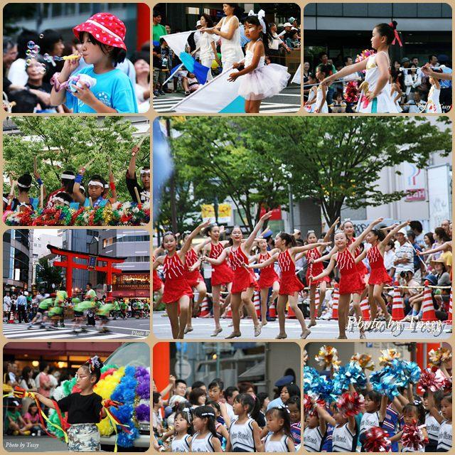 神戸祭りの子供達