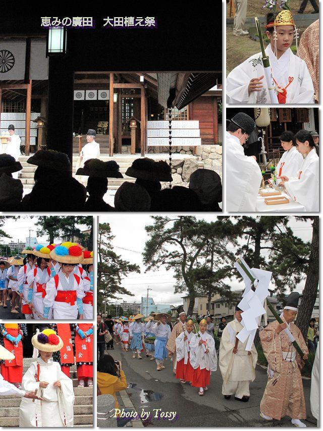 お田植え祭 コラージュ1