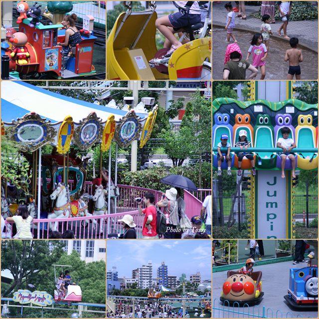 須磨水族園の遊園地