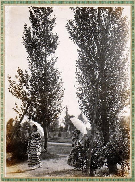 母の若い頃 中之島公園