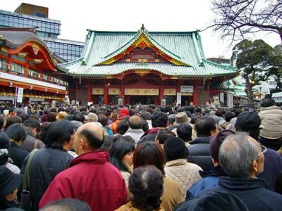 初詣 神田神社400