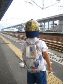 新幹線だね
