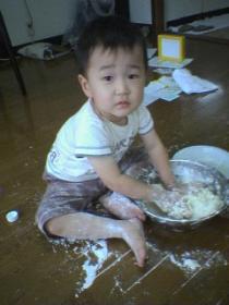 小麦粉粘土
