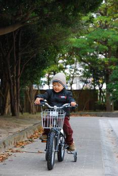 自転車です