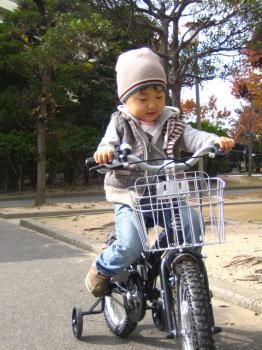 自転車だよぉ~
