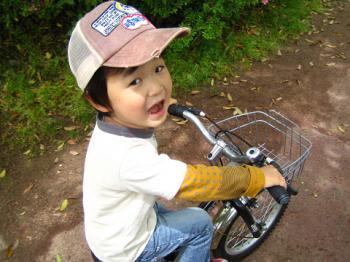 自転車だよ
