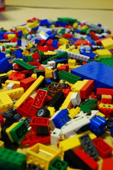 LEGOの山