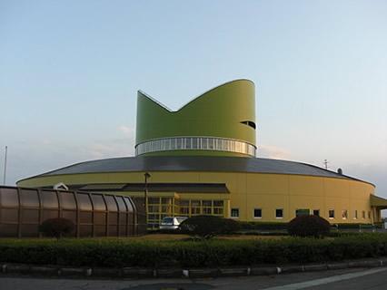 六ヶ所原燃PRセンター 外観