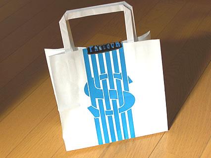 資生堂パーラー チーズケーキ 紙袋