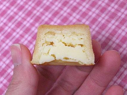 資生堂パーラー チーズケーキ 断面