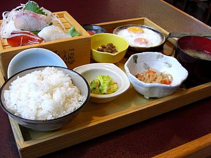 竈めし清次郎 港の朝定食880円