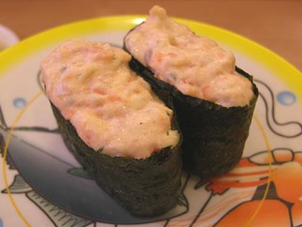 かっぱ寿司 サーモンチーズ軍艦