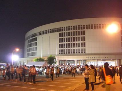 Mr.Children Tour 2009 〜終末のコンフィデンスソングス〜 青森県営スケート場 コンサート終了後