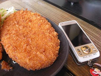 釜飯と串焼 とりでん ミックスフライ定食 コロッケ