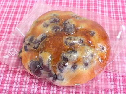 パンの木 金時豆パン(126円)
