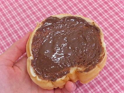 ポポロ ラウンド チョコクリーム塗り