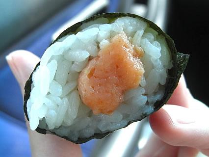 ローソン 手巻寿司 とろサーモン 中身