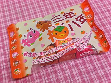 チロルチョコ 桃栗三年柿八年